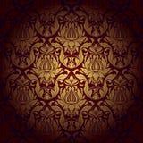 Seamless wallpaper pattern background. Vector. Illustration stock illustration