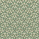 Seamless wallpaper pattern background. Vector. Illustration vector illustration
