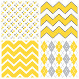 Seamless wallpaper pattern Stock Photos