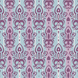 Seamless wallpaper pattern. Elegant Hand Drawn vector pattern Royalty Free Stock Photography