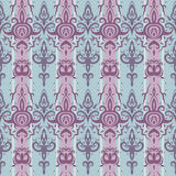 Seamless wallpaper pattern. Elegant Hand Drawn vector pattern Stock Images