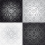 Seamless wallpaper pattern, floral Stock Image