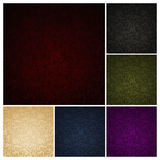 Seamless Wallpaper Pattern, set. Of six colors Royalty Free Stock Image