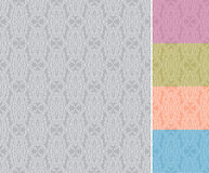 Seamless wallpaper pattern (vector) Royalty Free Stock Image