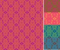 Seamless wallpaper pattern (vector) Stock Photos