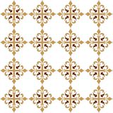 Seamless wallpaper patternr Royalty Free Stock Photos