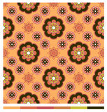 Seamless wallpaper patterns - floral series Royalty Free Stock Image