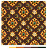 Seamless wallpaper patterns - floral series Stock Photography