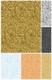 Seamless wallpaper patterns Royalty Free Stock Image