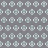 Seamless wallpaper Renaissance on a gray background. Royalty Free Stock Photo