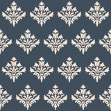Seamless wallpaper Renaissance on a gray background. Royalty Free Stock Images