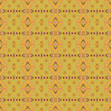 Seamless wallpaper in retro color Royalty Free Stock Photos