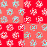 Seamless wallpaper with snowflakes Royalty Free Stock Images