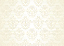 Seamless wallpaper on a striped background Royalty Free Stock Photo