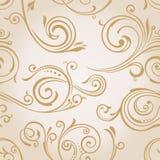Seamless wallpaper. Tappningbakgrund stock illustrationer