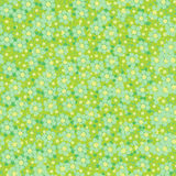 Seamless wallpaper textile surface pattern with dots flowers Royalty Free Stock Photography