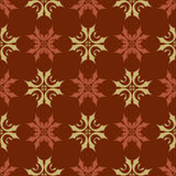 Seamless Wallpaper Tile Design Royalty Free Stock Photography