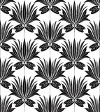Seamless wallpaper in traditional look Royalty Free Stock Photo