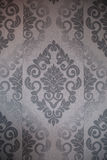 Seamless wallpaper, vintage background close up. Seamless wallpaper, grey vintage background Stock Image