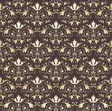Seamless wallpaper vintage gold  Royalty Free Stock Photo