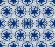 Seamless wallpaper with winter pattern Royalty Free Stock Images