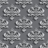 Seamless wallpapers in the style of Baroque . Can be used for backgrounds and page fill web design Stock Photography