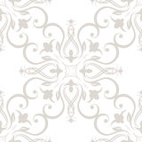 Seamless wallpapers in the style of Baroque . Can Royalty Free Stock Photography