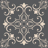 Seamless wallpapers in the style of Baroque . Can Royalty Free Stock Photos