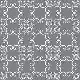 Seamless wallpapers in the style of Baroque . Can Royalty Free Stock Images