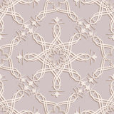 Seamless wallpapers in the style of Baroque . Can be used for backgrounds and page fill web design. Vector  illustration Royalty Free Stock Photo