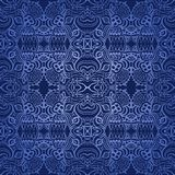 Seamless wallpapper dark blue Royalty Free Stock Photography