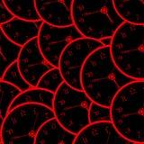 Seamless watch pattern Royalty Free Stock Photo