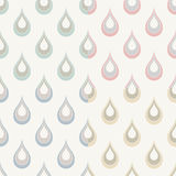 Seamless water drops background Stock Image