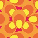 Seamless water drops pattern. Water drops seamless pattern, geometric Stock Photos
