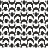 Seamless water drops pattern. Water drops seamless pattern, geometric Stock Photography