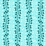 Seamless Water Pattern Algae. Plant water pattern background. Seamless tile Royalty Free Stock Images