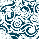 Seamless water pattern Stock Image