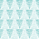 Seamless water triangular typhoon background. Doodled triangles typhoon seamless background pattern Royalty Free Stock Photography