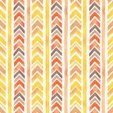 Seamless Watercolor Boho Tribal Ornamental Pattern royalty free stock images