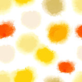 Seamless watercolor dots background Royalty Free Stock Image