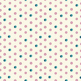 Seamless watercolor drops pattern. Vector Stock Photos