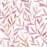 Seamless Watercolor Pattern Stock Photo