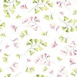 Seamless Watercolor Pattern Stock Photos