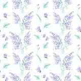 Seamless watercolor pattern Royalty Free Stock Image
