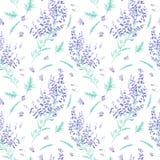 Seamless watercolor pattern Stock Image