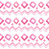 Seamless watercolor pattern Stock Photography