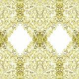 Seamless watercolor pattern lace. Stock Photo