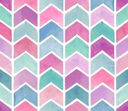 Seamless watercolor pattern. stock photos