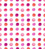 Seamless watercolor spot background Stock Images