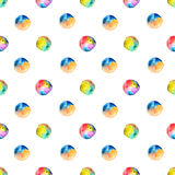 Seamless watercolor spot pattern Royalty Free Stock Images